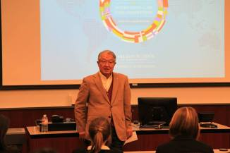 Michael B Lee - welcomed 2014 CIHRCom participants